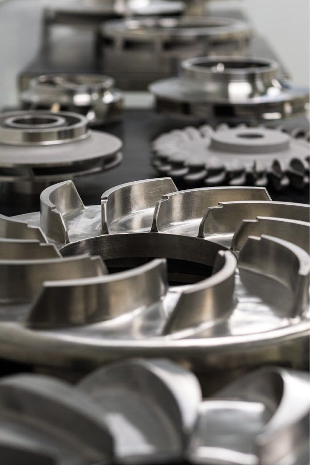Impeller precision castings